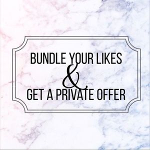 Other - Discounts on Bundles ☺️